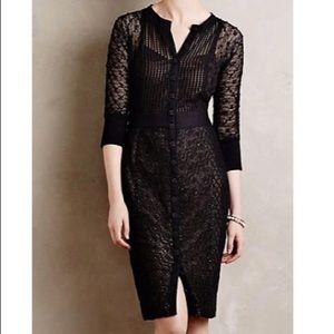 Anthropologie Beguile by Byron Lars Crochet Dress